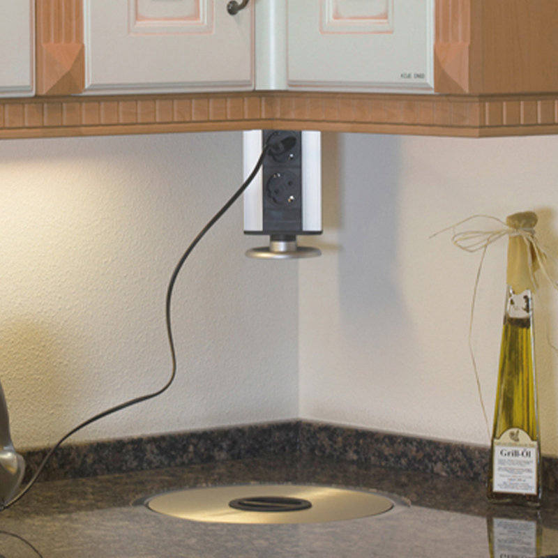 Torretta elettrica multipresa estraibile per cucina (e altri ambienti ...