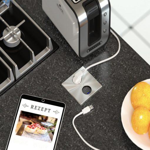 modulo prese apertura elettrica per cucina